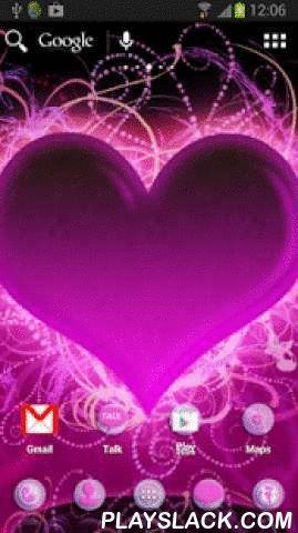 Theme Hearts For ADW Launcher  Android App - playslack.com ,  Aanvraag voor ADW launcher met een hart motief . Wallpaper is een groot roze hart met paarse versieringen . Elk pictogram heeft een transparante achtergrond paarse cirkel , zijn belangrijke iconen opgenomen in paars roze . Achtergrond van de belangrijkste contacten menu is ook een groot hart met ornamenten . Als je van de kleur roze en iets met een hart motief deze app is gewoon recht voor je . Wacht niet op Valentijnsdag of voor…