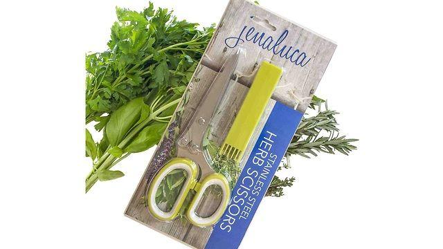 Jenaluca's Five Blade Herb Scissors