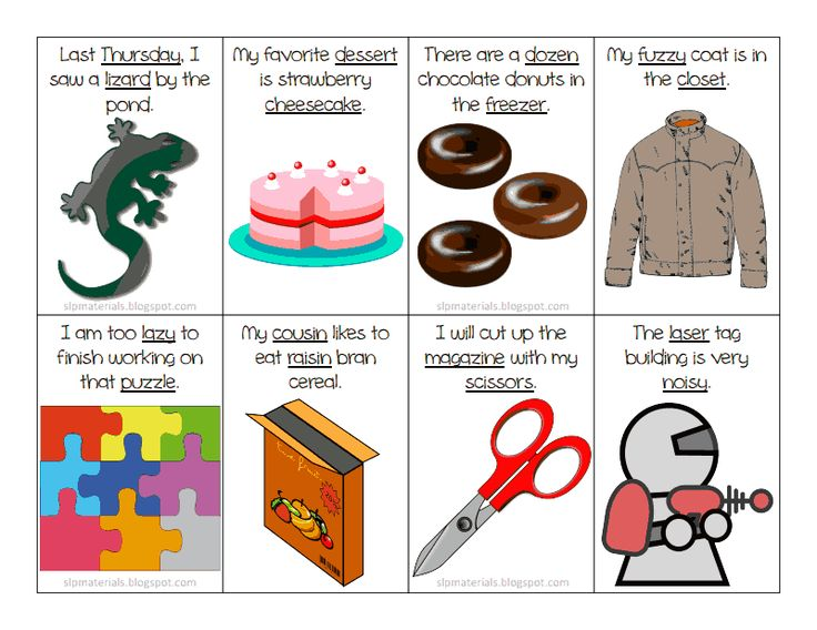 177 Best Images About Ms. Lane's SLP Materials On