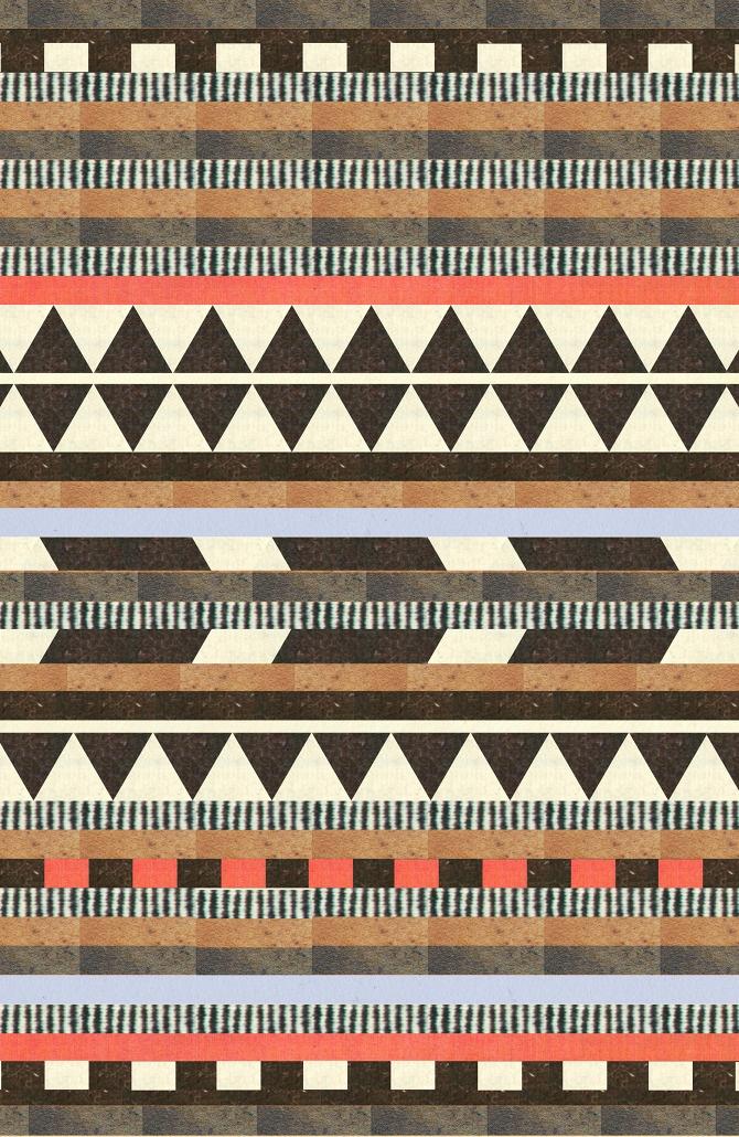 maybe a quilt.....aztec design by dawn gardner http://dawngardnerdesign.com/#2588518/DG-Aztec-Pattern-Collection