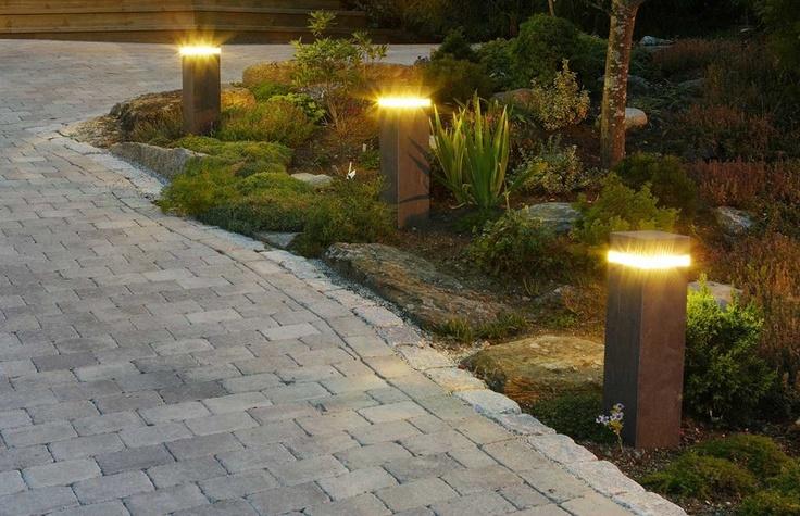 ideas garden lighting