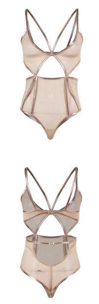 Missomo Solid Bodysuits Women Beige Back Closure Sheer Side Hollow Out 3/4 Cup Transparent Breathable Underwears Lady Bra Sets #fashion #style #shopping #hipster  #litewear #womenswear   #love   #women #womenfashion #Clothing     #Womensclothing #womenstyle   #fall #out  #outfit #outfits #outfitforwomen #dress #tops #amzone #shirt #sleeve #gift