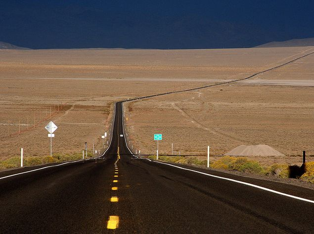 Image detail for -Highway 50, the Loneliest Road in America, Nevada by Slideshow Bruce ...