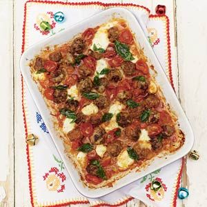 Recept - Jamies prachtige gehaktballetjes met kaas uit de oven - Allerhande