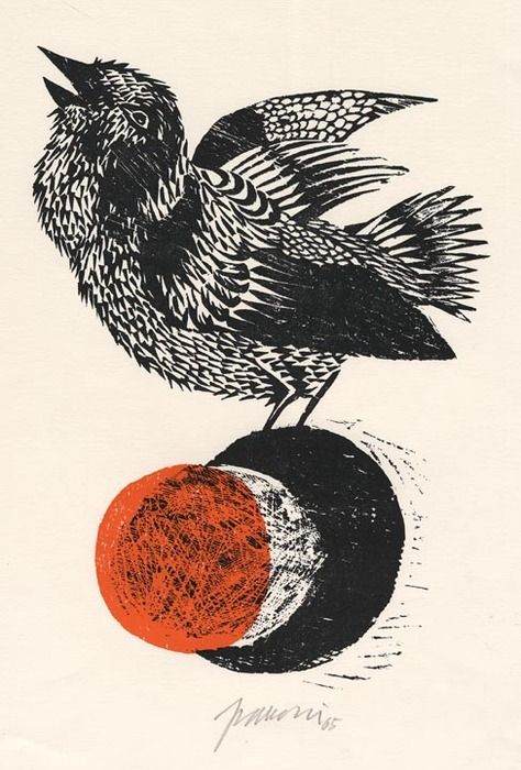 Antonio Frasconi / Woodcut