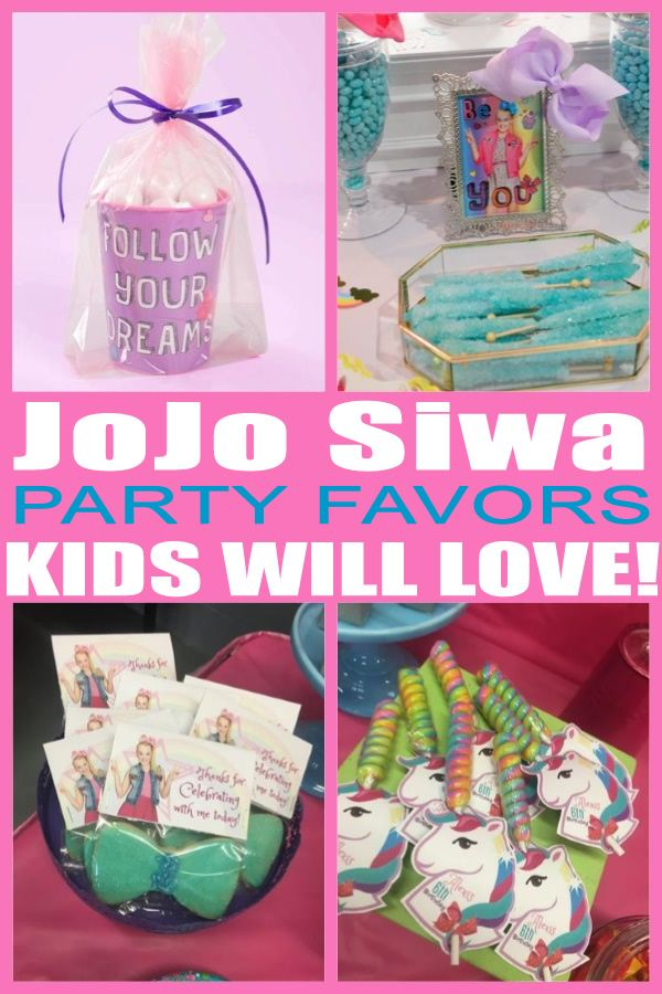 having a jojo siwa party and looking for some fun and great ideas for the kids