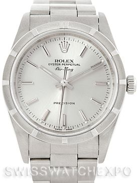 Rolex Air King Mens Steel Watch 14010