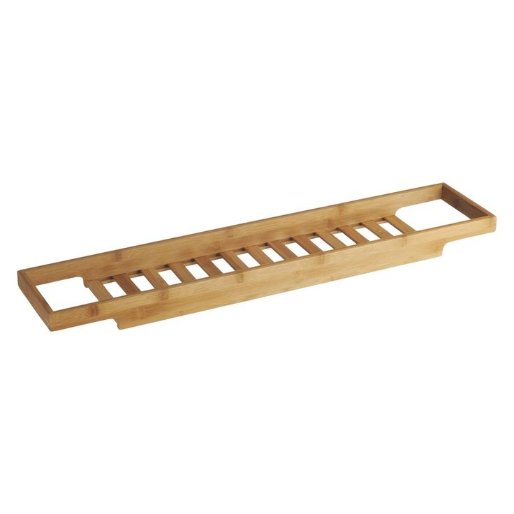 BETHANY Bamboo bathtub rack