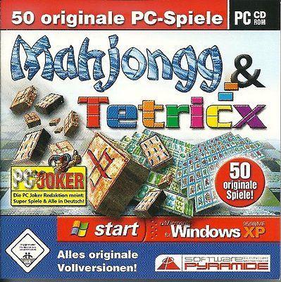 sparen25.deMahjongg & Tetricx PC (50 originale PC-Spiele) sehr guter Zustand!!sparen25.info , sparen25.com