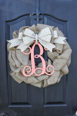 The Fab Life: Fall Wreath {DIY}