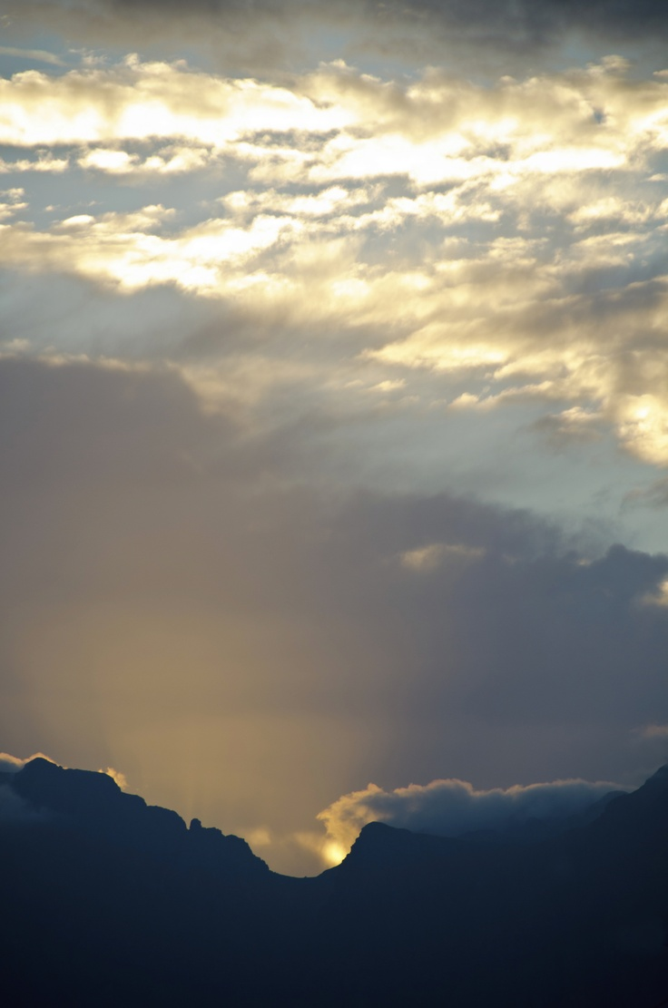 Sunrise in the Western Cape