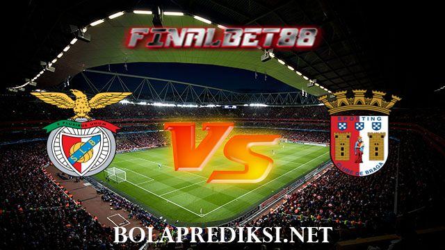 Prediksi Benfica vs Sporting Braga 8 Agustus 2016