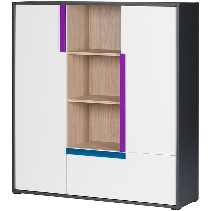 Buy IKAR 13 Shelf Unit at a price of £128 in the online store Euro Interiors Ltd.