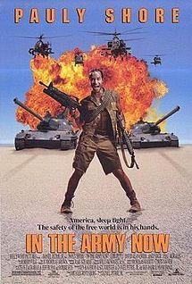 """It's like """"Private Benjamin"""" meets """"Stripes""""! Two guys (Pauly Shore, Andy Dick) working at the California branch of Crazy Eddie just lose their job after driving Eddie in-sane. Looking for quick money, they join the Army Reserve, believing the recruitment hype is a fact, jack."""