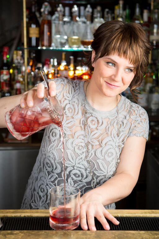 Turning Your Restaurant Job Into a Career: Megan Deschaine, Bar Manager of 492 #theeverygirl