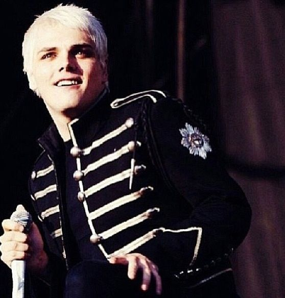 Gerard Way singer of My Chemical Romance