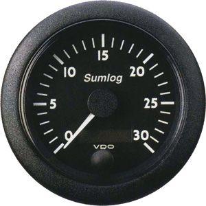 En oferta Reloj Corredera Sumlog ViewLine VDO Negro 85 mm 0-50 Nudos