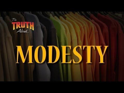 """http://www.thetruthabout.net/video/Modesty """"The Truth About... Modesty"""" covers the important topic of modesty. Can Christians wear anything a store sells? Do cultural norms change a Christian's perspective? Sooner or later, most of us find ourselves facing moral, social, and ethical situations that command our attention. These situations can affect our family, friends, neighbors or others. Don Blackwell presents a compelling and informative answer from a biblical and practical standpoint."""