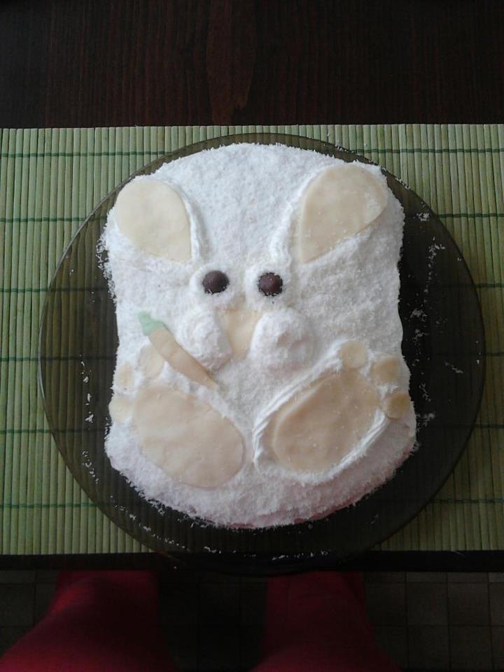 Nyuszitappancs torta