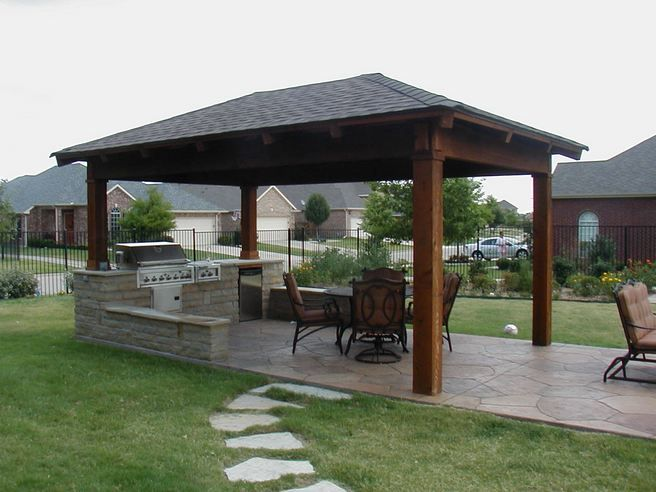 Backyard Covered Patio Design Ideas