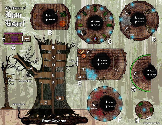Dungeons (e mapas) para suas aventuras - 50