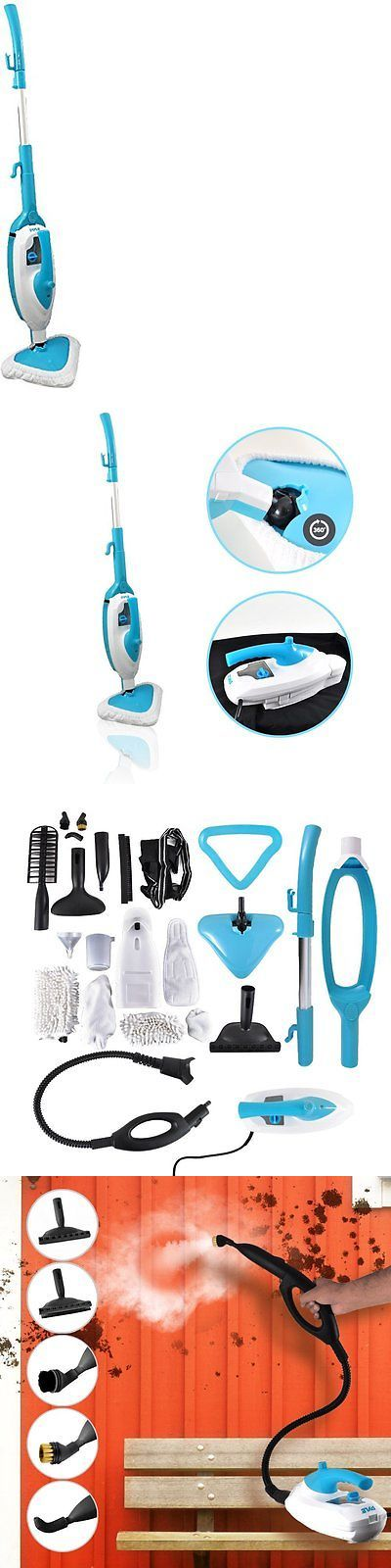 PDA Accessories: Pyle Pstmp20 Multi-Purpose And Multi-Surface Steam Floor Mop And Detachable BUY IT NOW ONLY: $123.36