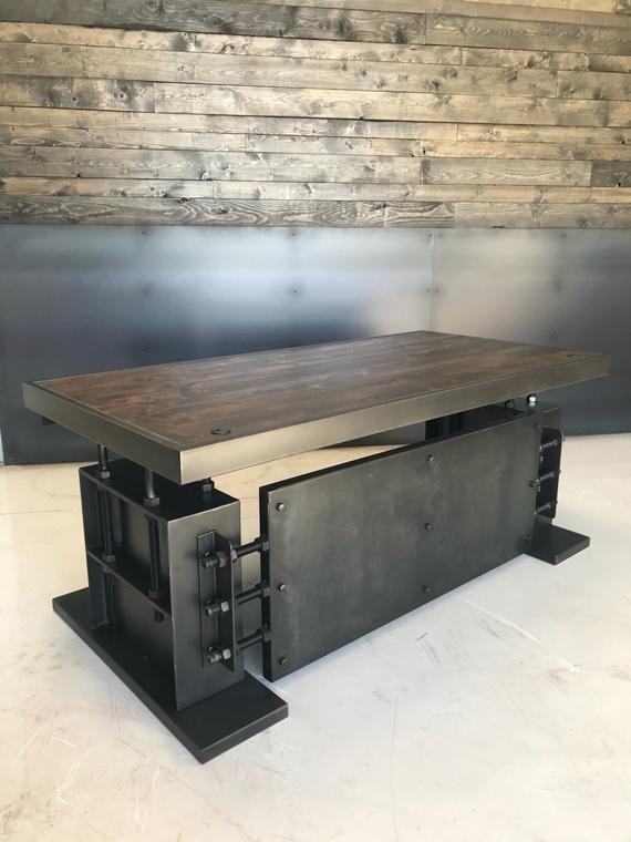 Foster Desk Etsy Industrial Design Furniture Furniture Industrial Decor