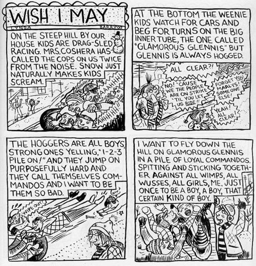 lynda barry essay Lynda barry's one hundred demons is based on the idea of drawing a demon it is an assortment of seventeen short comics, containing themes of barry's childhood barry got the idea of drawing demons from a painting practice used by a japanese monk from the sixteenth century, who painted.
