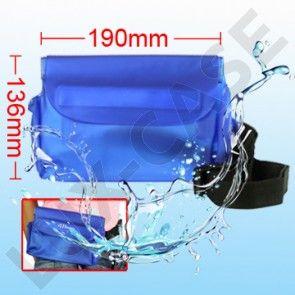 Vandtæt Bæltetaske til Elektroniske Enheder (Blå - Størrelse: 19cm * 13.6cm)