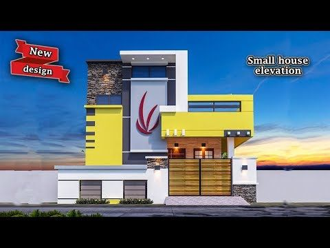 30 Beautiful Small House Front Elevation Design 2019 ...