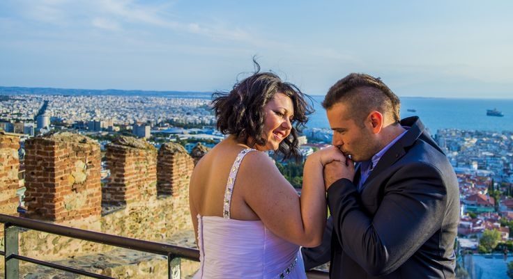 Maria & Alexandros! Thank you for this great experience! #skg #wedding #photography