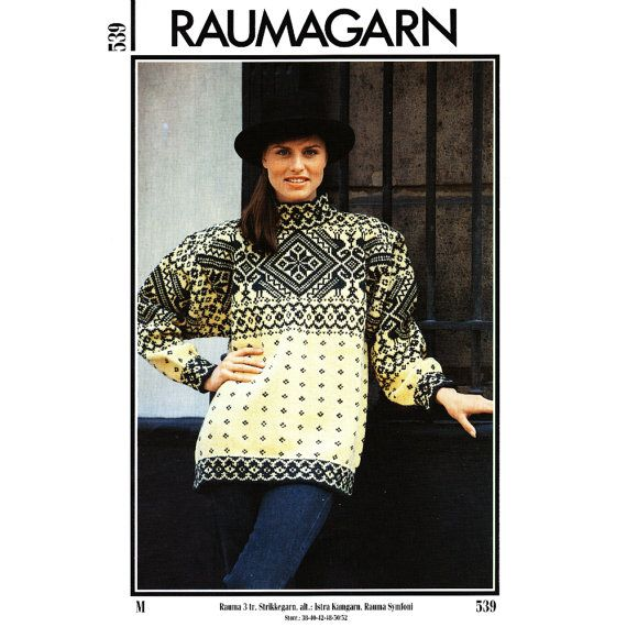 Rauma 539 Knitting Pattern for Norwegian by CorrinneExpressions, $3.95