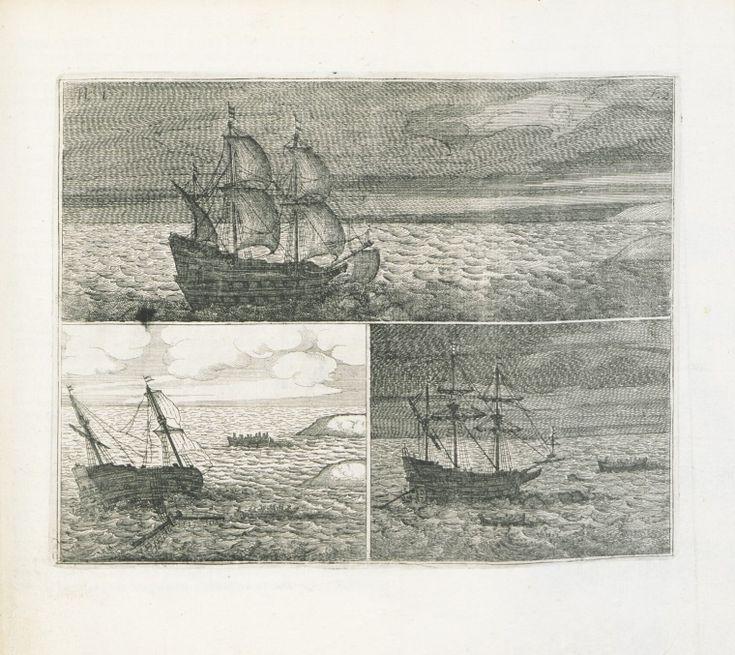Ongeluckige voyagie, van 't schip Batavia, nae de Oost-Indien :1647 Foldout pages 2-3  https://encore.slwa.wa.gov.au/iii/encore/record/C__Rb1660729