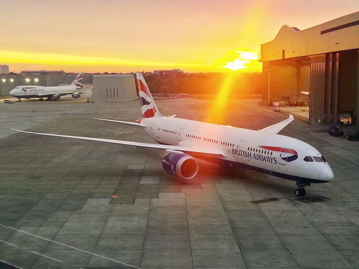 BA B787 | ✈ Follow civil aviation on AerialTimes. Visit our boards on pinterest.com/aerialtimes or like us on www.facebook.com/aerialtimes