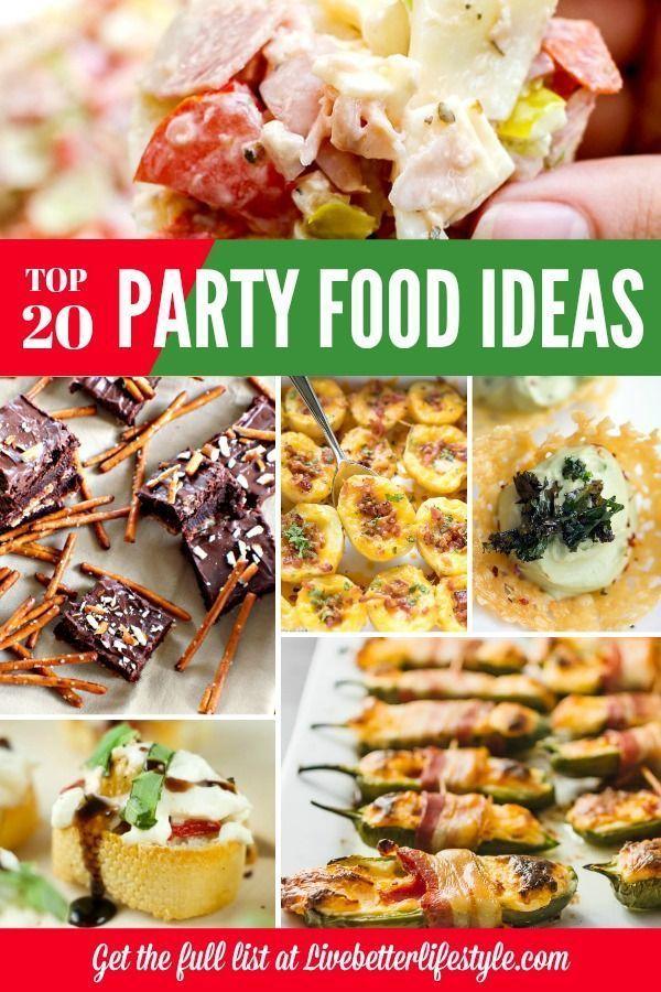 20 Delicious Party Snack Recipes Party Snack Food Easy Party Snacks Recipes Easy Party Food