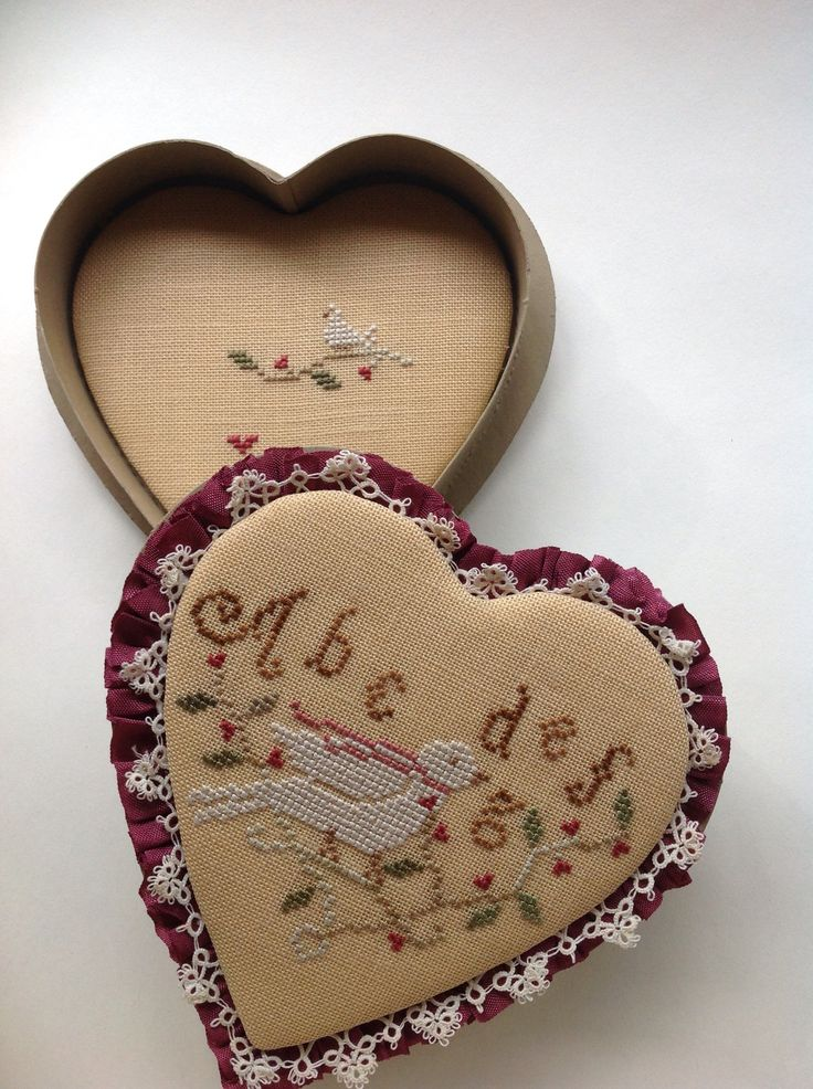 This is a valentine candy box. Designed by Brenda Gervais.