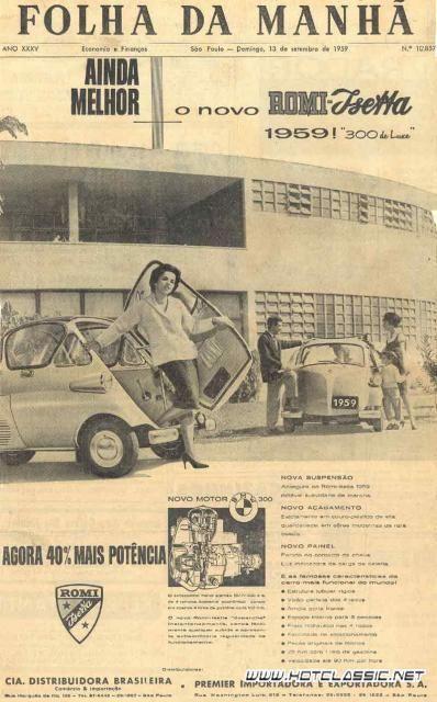O BMW para pobre, como era chamado, foi o primeiro carro a permitir aos alemães a liberdade de viajar pelo próprio país. No ano de 1955, vários foram os acontecimentos importantes como a volta para…                                                                                                                                                                                 Mais