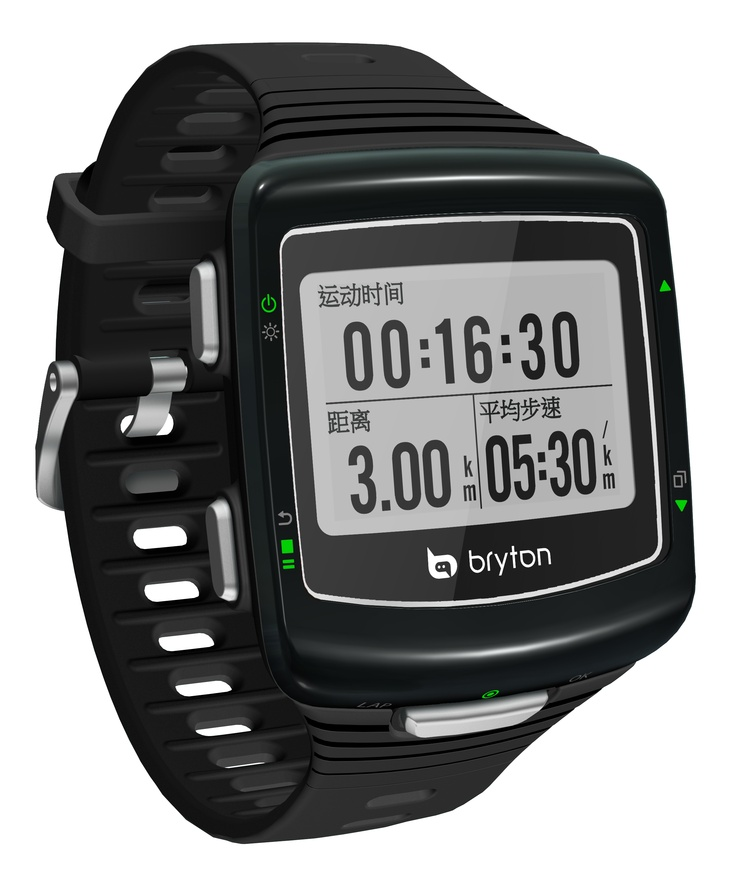 Bryton Cardio 60 GPS, Multisport Fitness Device. Sleek, light and wearable all day everyday.