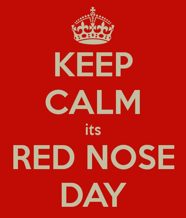 Keep calm, it's Red Nose Day. Learn how you can get seriously silly for kids in need by visiting rednoseday.org. | Red Nose Day USA