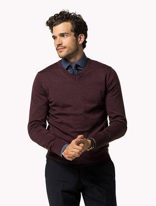 Clayton V-neck Sweater