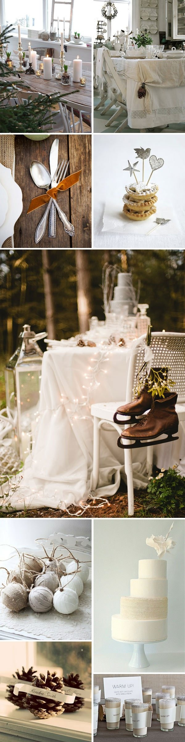 Eat, Drink And Be Merry, winter wedding