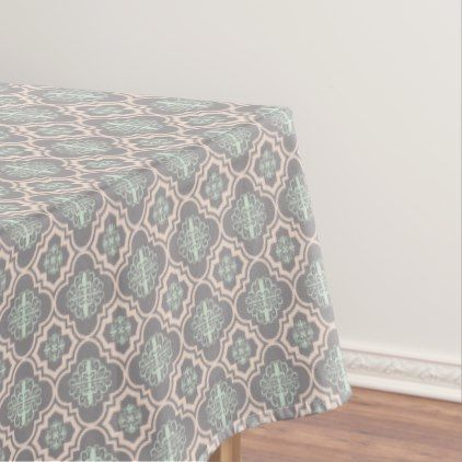 Gray Baroque Royal Damask Tablecloth - classic gifts gift ideas diy custom unique