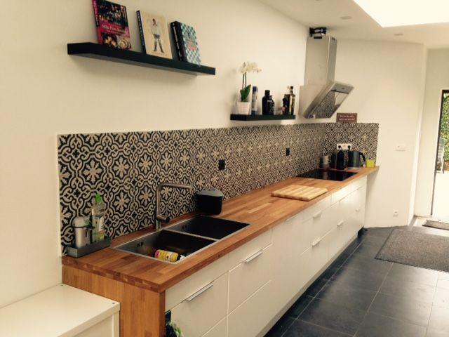 Cementtegels Keuken : Moderne Keuken Cementtegels Pinterest