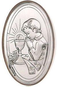 Obrazek I Komunia Święta z wizerunkiem Chłopca, doskonały prezent dla dziecka. #I_komunia #prezent_dla_dziecka #dla_chlopca
