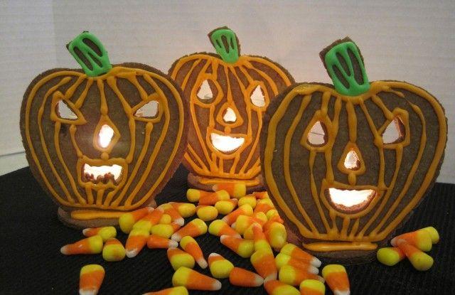Edible Halloween LightsEdible Halloween, Trav'Lin Lights, Pumpkin Recipe, Halloweendecor Costumes, Edible Treats, Curtains Halloween, Halloween Food, Halloween Lights, Halloween Cookies