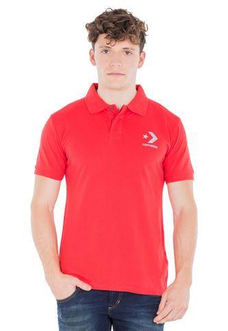 Camiseta Polo CONVERSE Rojo Converse
