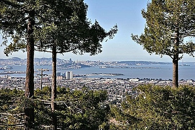 Berkeley  Hills view of San Francisco