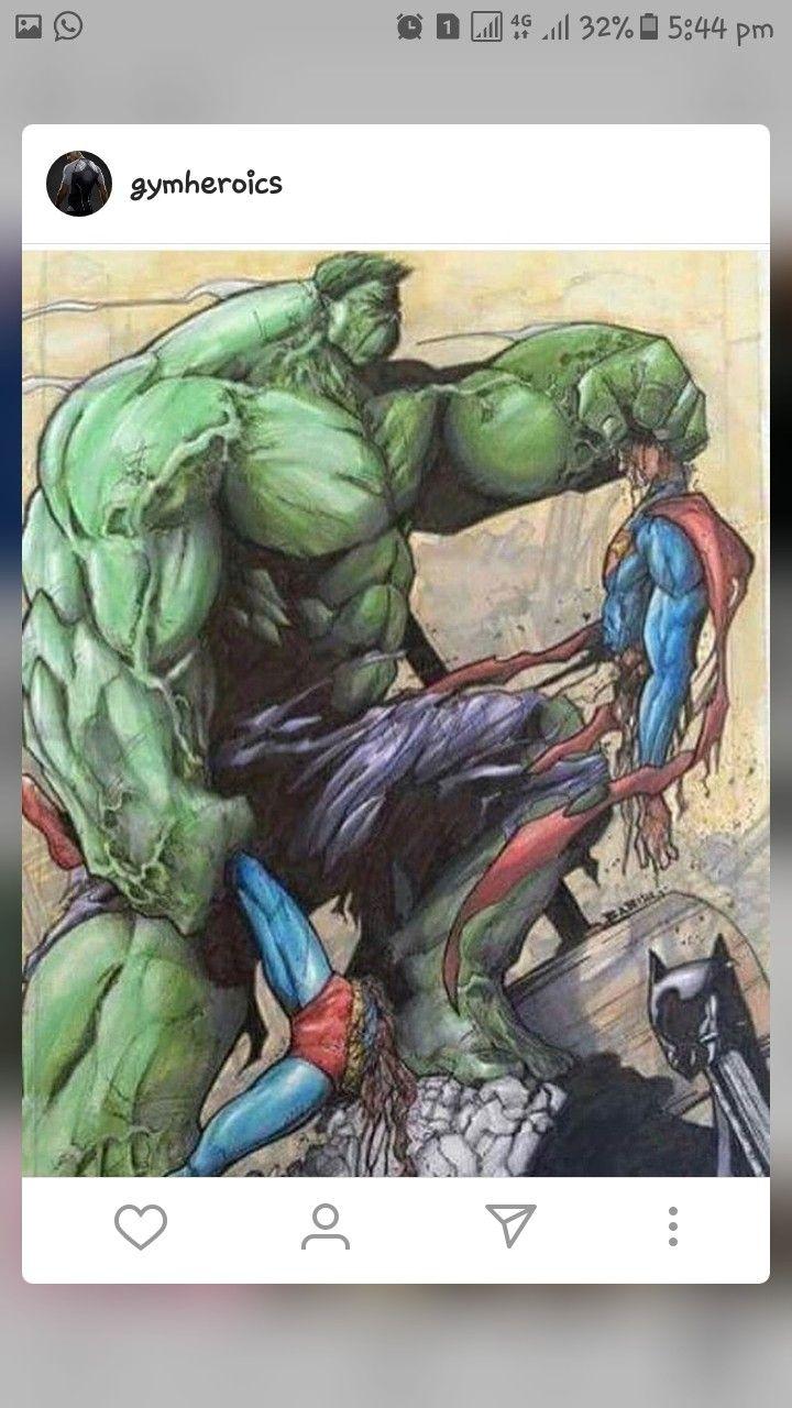 #hulk #avengers #marvel #dc