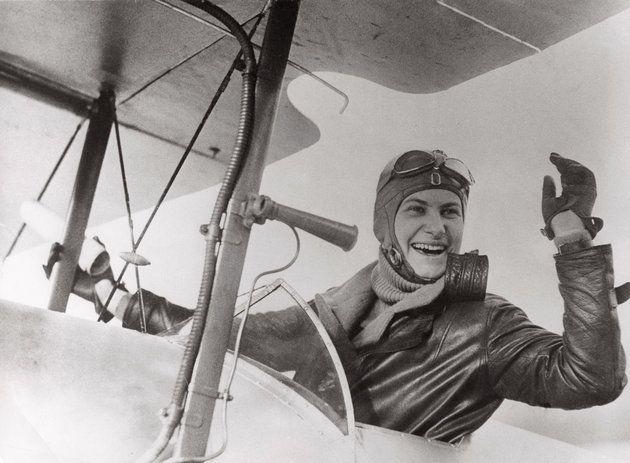 Helene Boucher, French aviator, circa 1930.