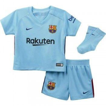 Barcelona kläder Barn 17-18 Bortatröja Kortärmad  #Billiga #fotbollströjor